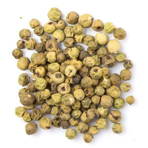 Grüner Pfeffer: Fruchtiger Geschmack und milde Schärfe
